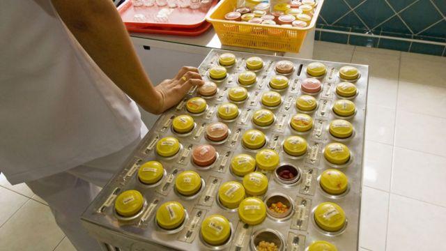 Remédios em laboratório