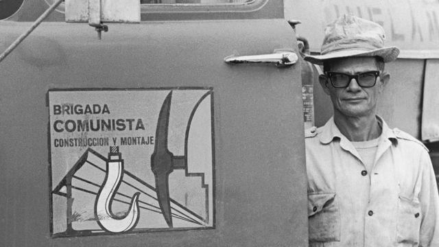 Miembro de las Brigadas Comunistas en Cuba