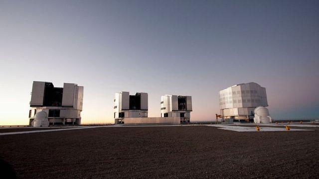 European Southern Observatory VLT, in the Atacama Desert