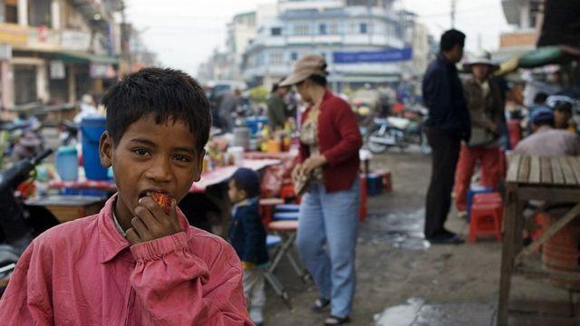 El mercado matutino de Battambang