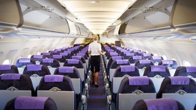 हवाई जहाज की सीटें