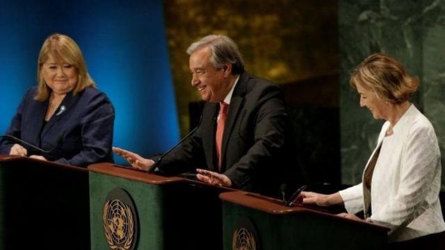 इस बार किसी महिला के संयुक्त राष्ट्र महासचिव बनने की चर्चा रही