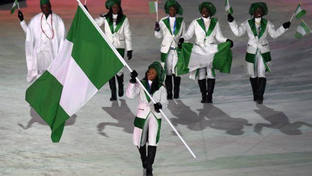Спортсмены из Нигерии