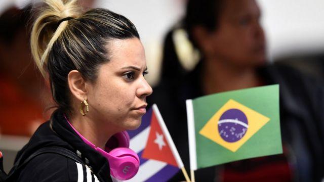 Una mujer participante en el programa Más Médicos en Brasil