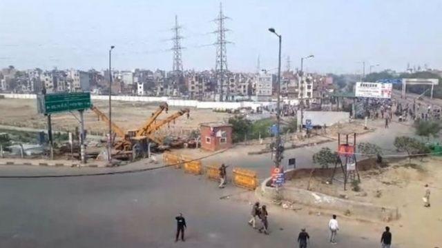 दिल्ली, हिंसाचार