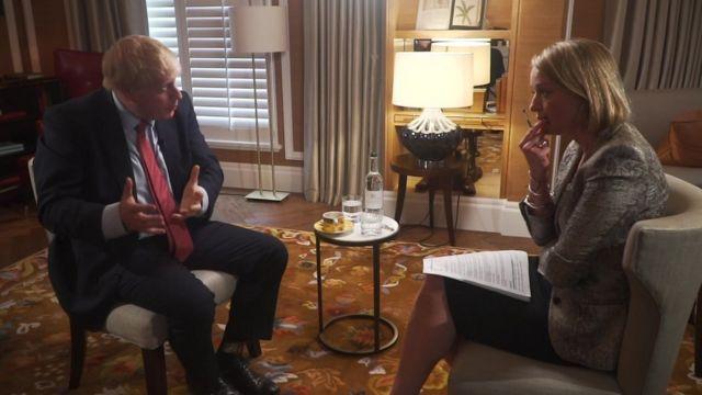 In full: Boris Johnson interview with BBC's Laura Kuenssberg