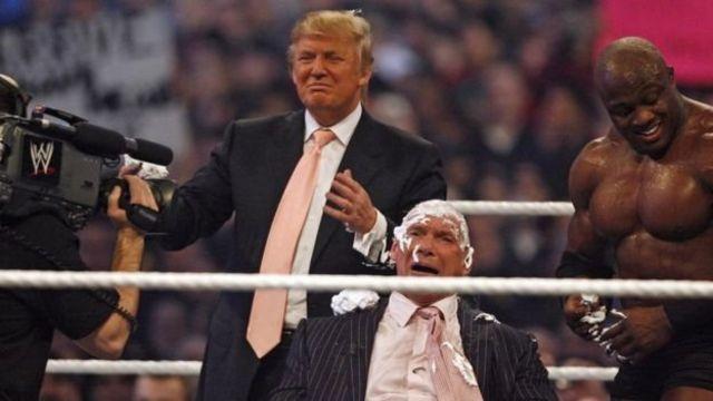 Trump em reality show