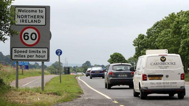 Fronteira entre a Irlanda do Norte e a República da Irlanda