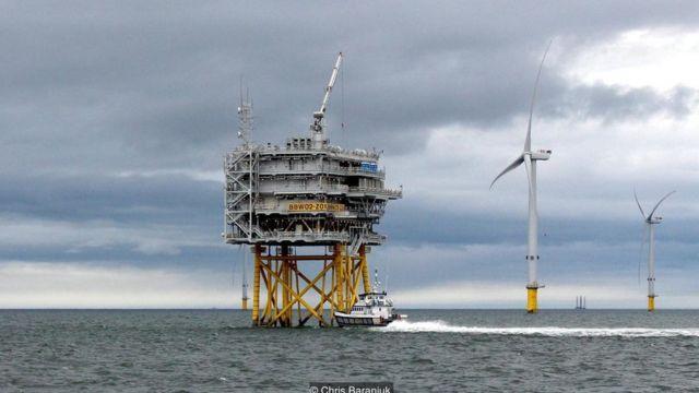 Turbin angin, Inggris