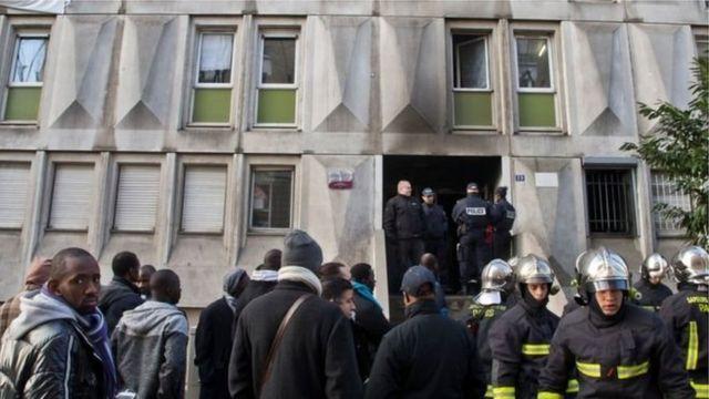 Un centre d'accueil des migrants à Paris (photo d'archives)