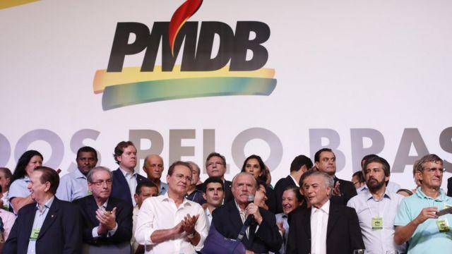 Convenção do PMDB em 2016