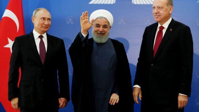 Putin, Rouhani dan Tayyip