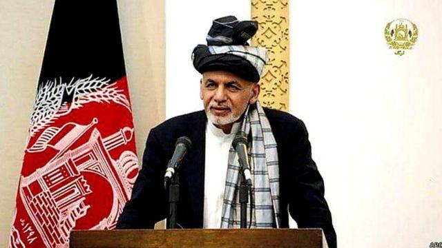 اشرفی غنی، رئیس جمهوری افغانستان