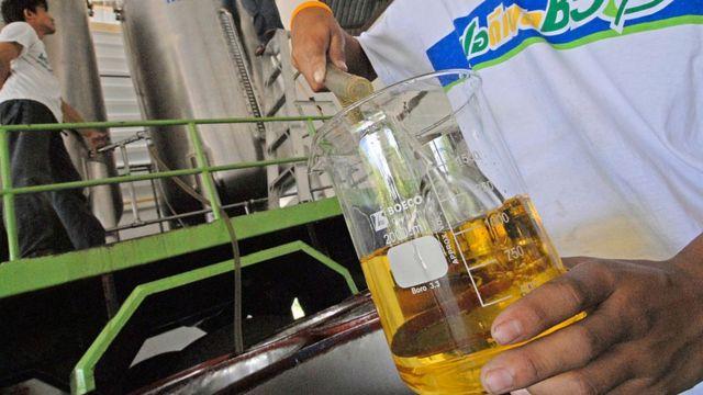 थाईलैंड की बायोडीज़ल उत्पादन यूनिट