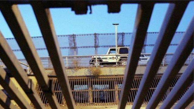 El muro entre México y Estados Unidos