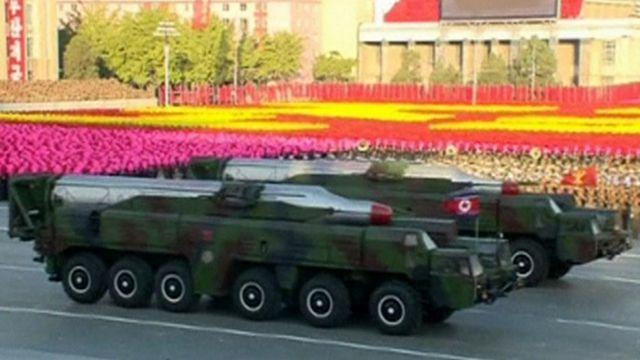 File photo of a Musudan medium-range missile