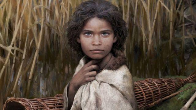 ડીએનએનાં તારણોને આધારે કળાકારે પાષાણયુગની મહિલાનું આ ચિત્ર બનાવ્યું છે. એ મહિલાને લોલા નામ આપવામાં આવ્યું છે.