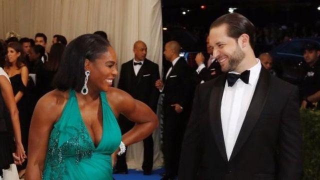 Serena Williams na Alexis Ohanian muri New York