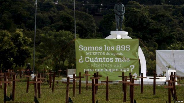 El Salvador violence up to civil war-era level