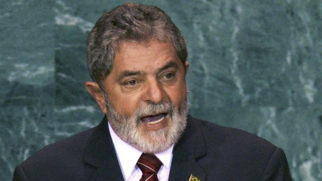 Ex-presidente fala na ONU em foto de 2005