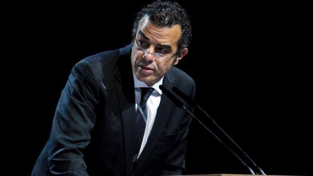 L'égyptien Khaled Mortagy, lors d'un congrès de la FIFA en Suisse en 2011 à Zurich.