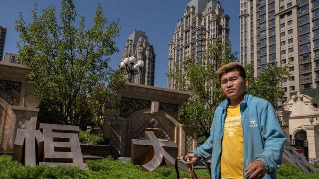 Un complejo residencial construido por Evergrande en Pekín.