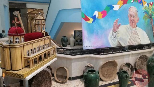 Pintura do Papa Francisco