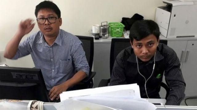 ரோஹிஞ்சா: தீர்ப்பை எதிர்நோக்கி காத்திருக்கும் இரண்டு ஊடகவியலாளர்கள்