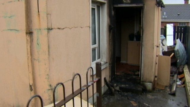 Arson attack in Londonderry