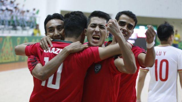 ورزشکاران افغانستان