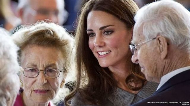 Kate Middleton'la birlikte