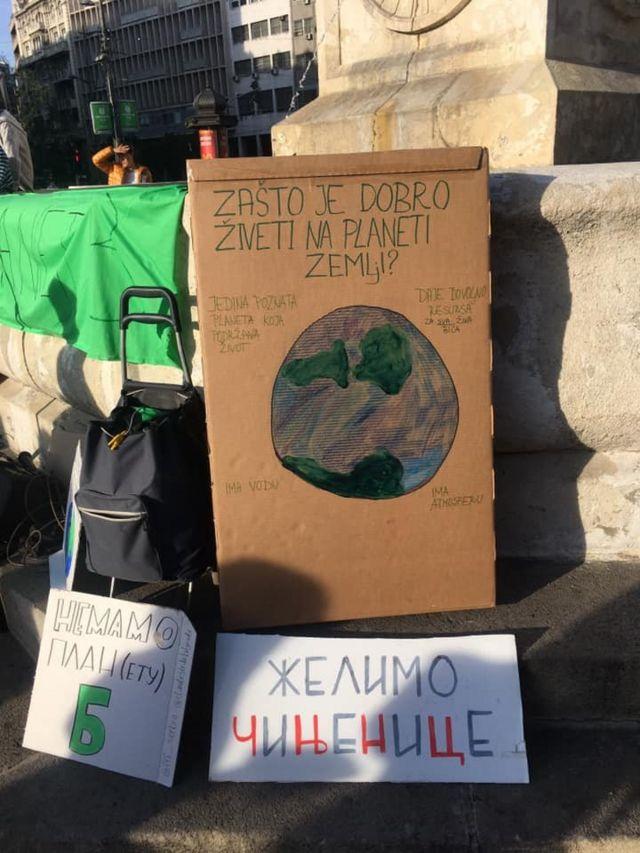 Jasne poruke na protestu