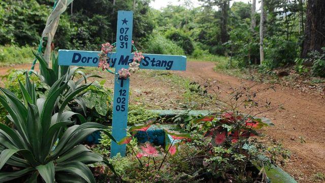 Memorial a Dorothy Stang em Anapu, Pará