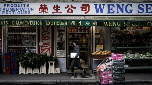 Chinese shop in Paris