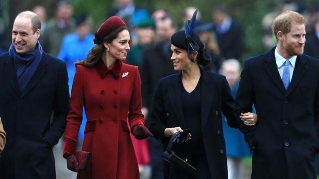 Прибытие королевской семьи