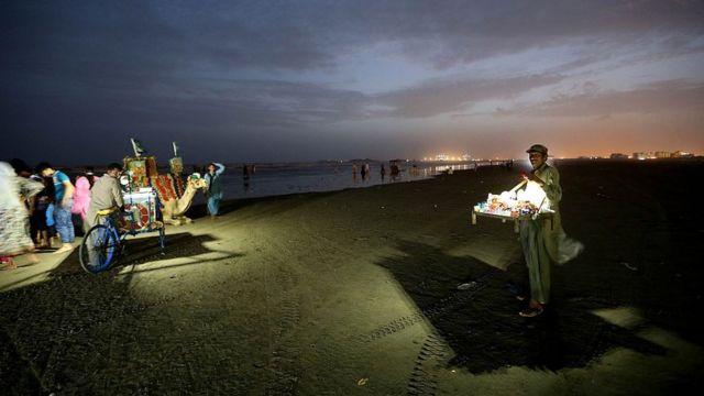 کراچی کا ساحلِ سمندر