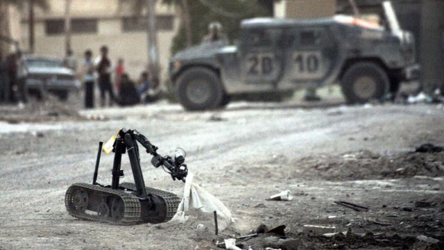 MARCbot no Iraque