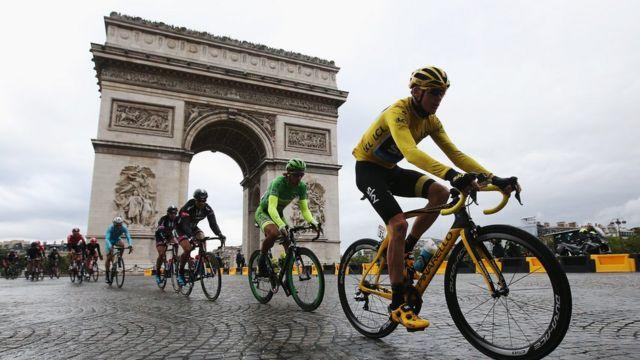 El Tour de Francia 2016 se desarrolla desde el 2 al 24 de julio.