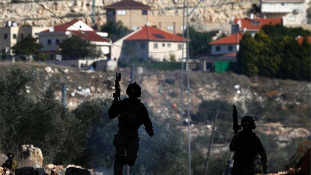 صورة مستوطنة يهودية