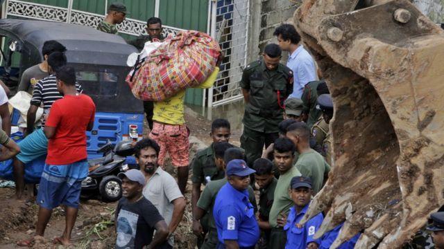 Мусор в Шри-Ланке