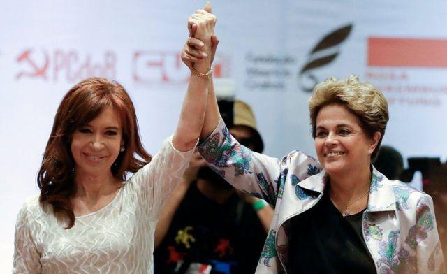 Dilma Rousseff e Cristina Kirchner