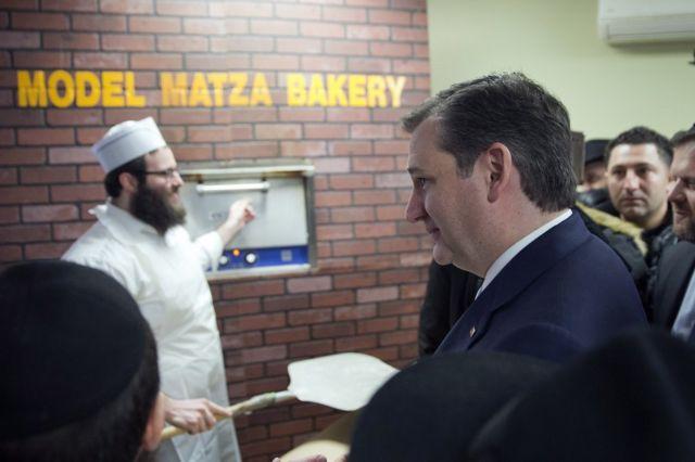 Ted Cruz yiyamamariza i New York, ku ya 07/04