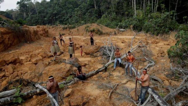 亞馬遜雨林是許多原住民的家園。