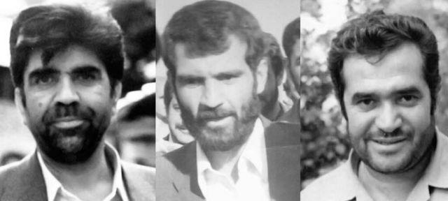 از راست: سید علی اکبر پرورش، حسن غفوریفرد و رضا زوارهای