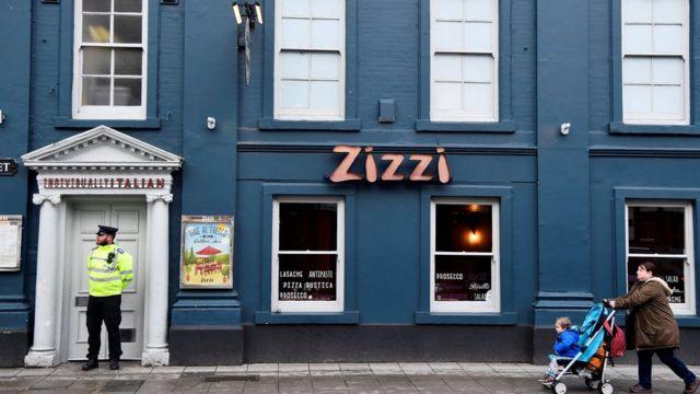 Ресторан Zizzi