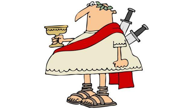 Юлий Цезарь с кинжалами в спине