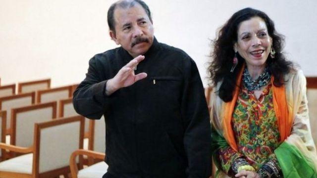 Daniel Ortega n'umugore we