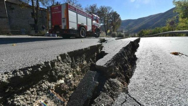 इटली में भूकंप