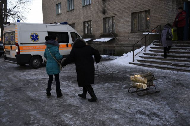 В начале февраля Авдеевка подверглась массированным обстрелам
