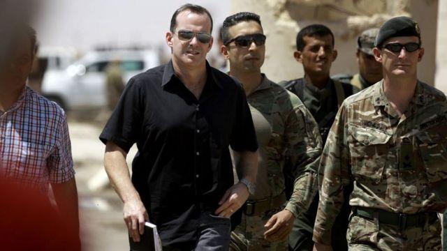 ABD Başkanı Donald Trump, IŞİD ile Mücadele Özel Temsilcisi Brett H. McGurk